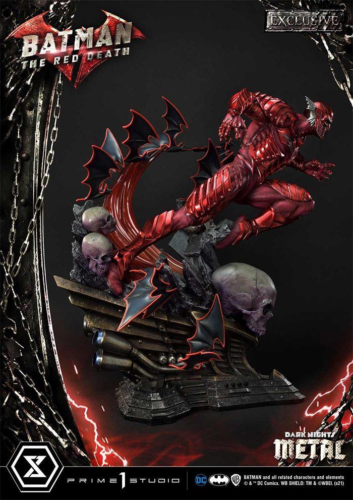 Batman - Red Death - Statue