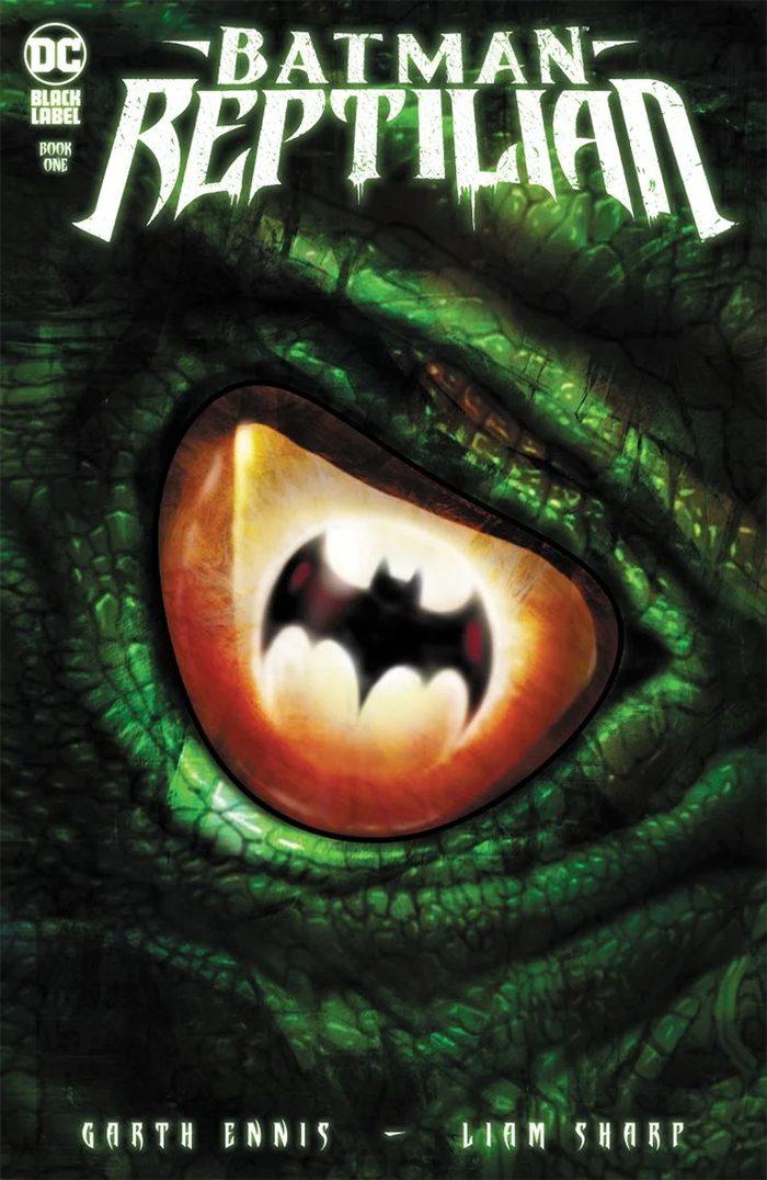 Batman: Reptilian Cover