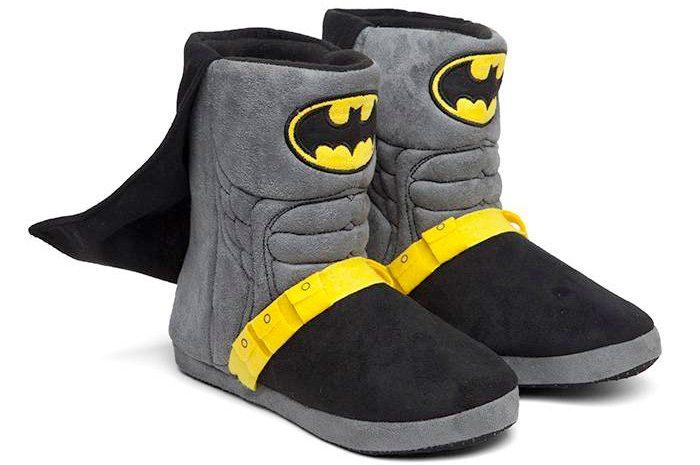 Caped Batman Slippers