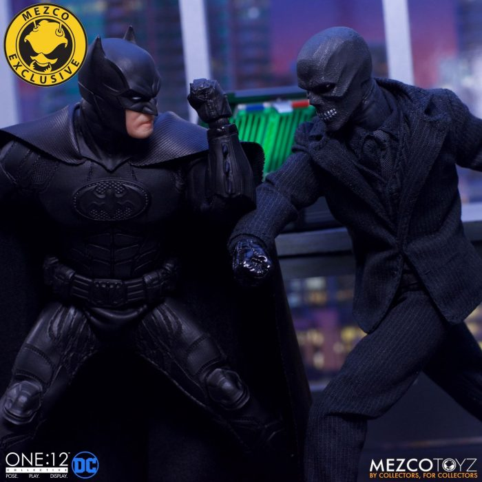 Batman: Sovereign Knight vs Black Mask One:12 Collective Figure