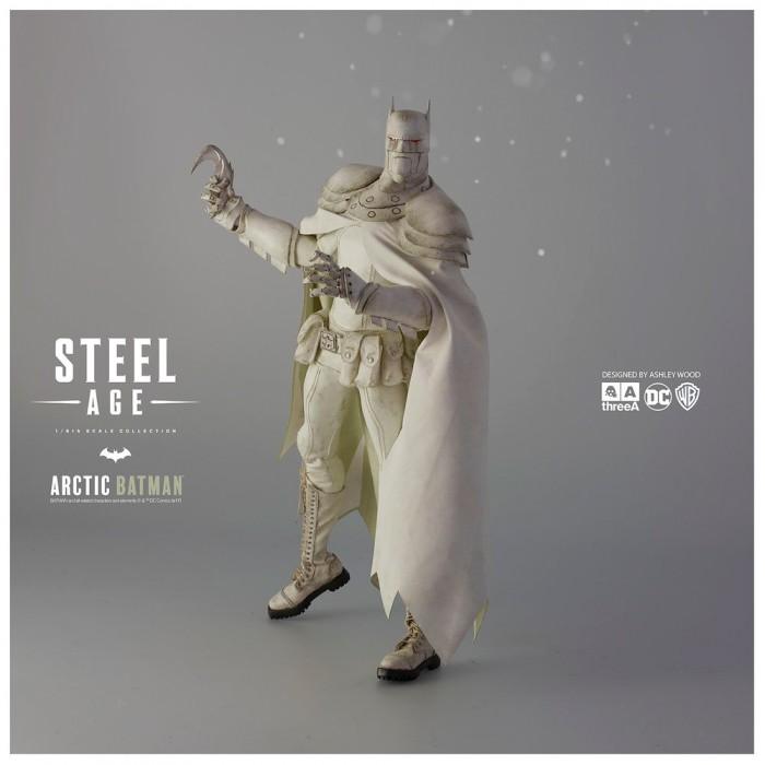 Steel Age Batman Statue