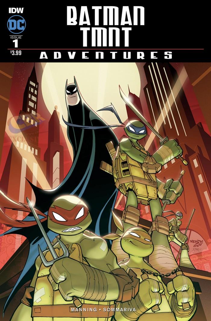 Batman: The Animated Series - Teenaga Mutant Ninja Turtles