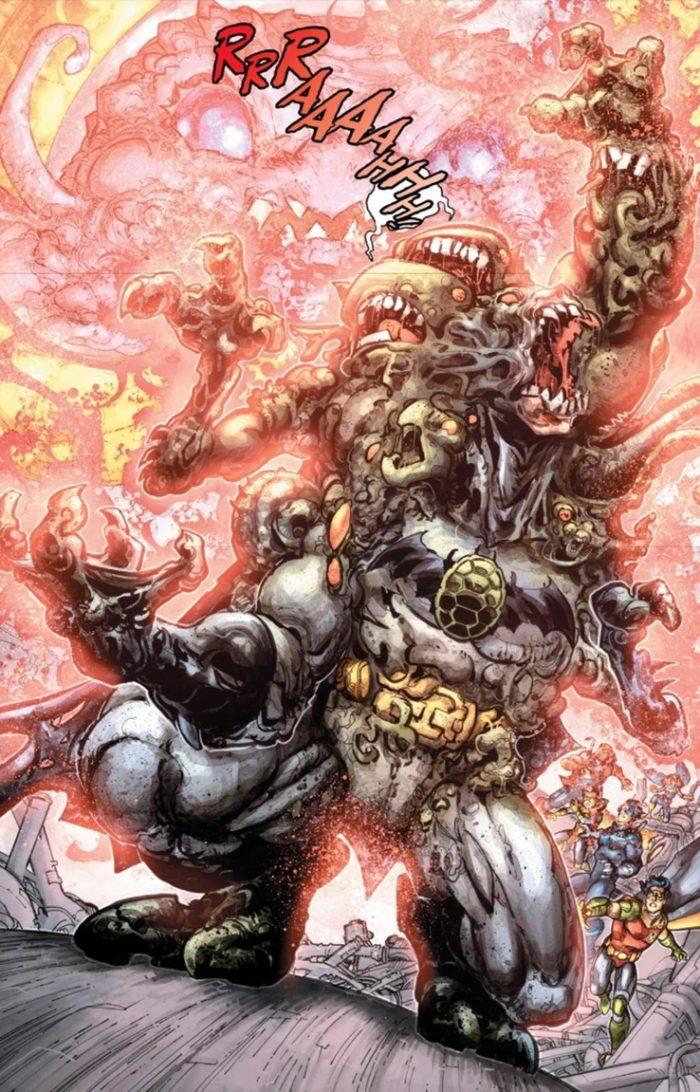 Batman and Teenage Mutant Ninja Turtles