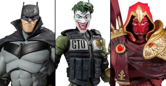 Batman: White Knight Action Figures
