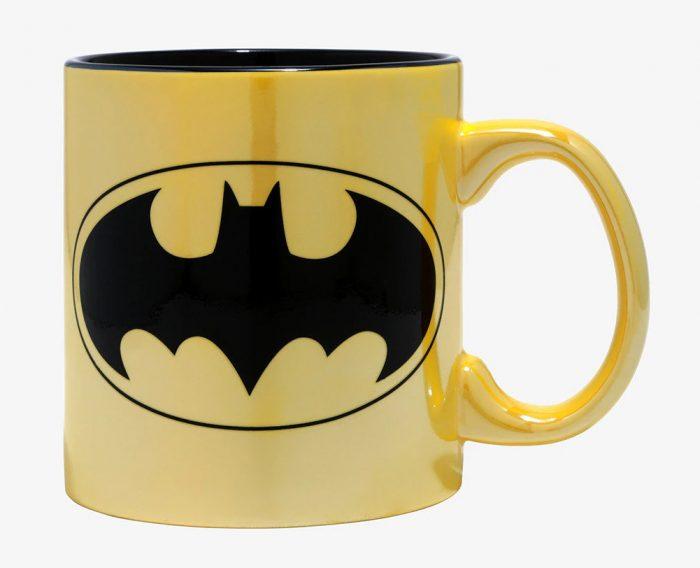 Batman - Metallic Yellow Mug