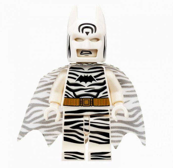 Batman Zebra LEGO Minifigure