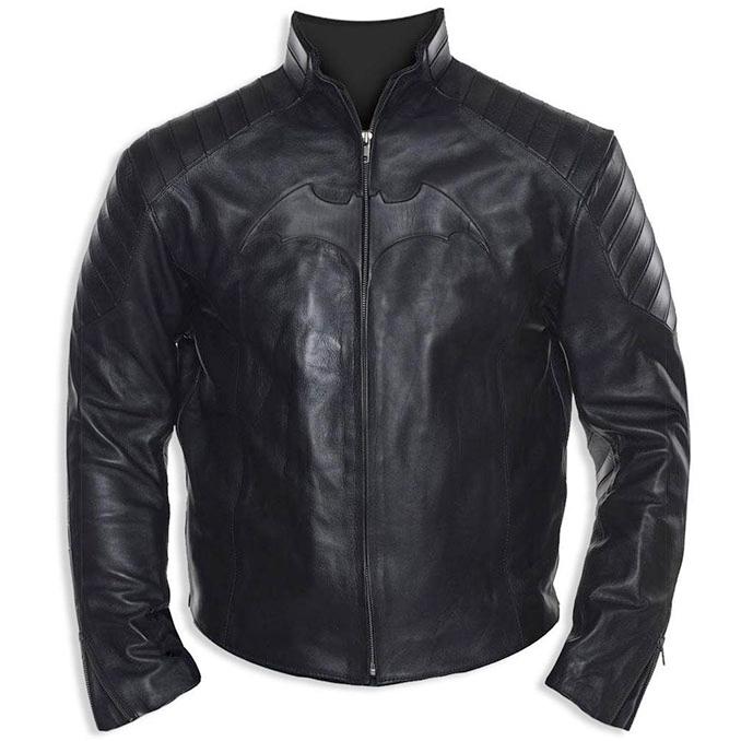 Batman Begins Leather Street Jacket