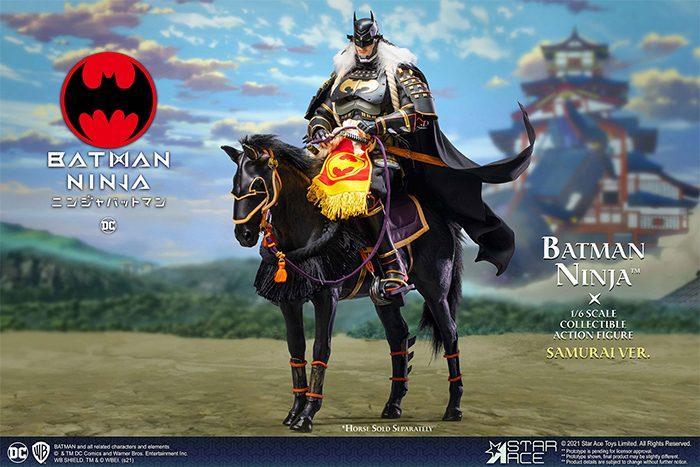Batman Ninja and Samurai Horse Figure