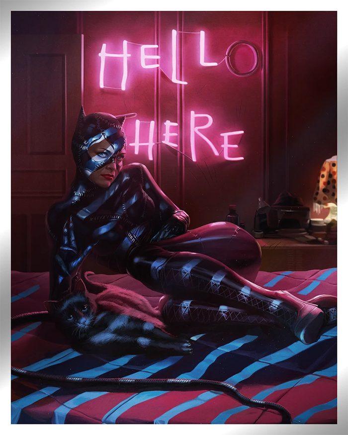 Batman Returns - Catwoman by Ann Bembi