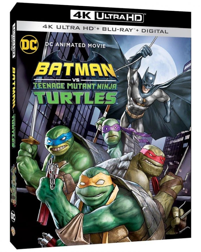 Batman vs Teenage Mutant Ninja Turtles Blu-ray