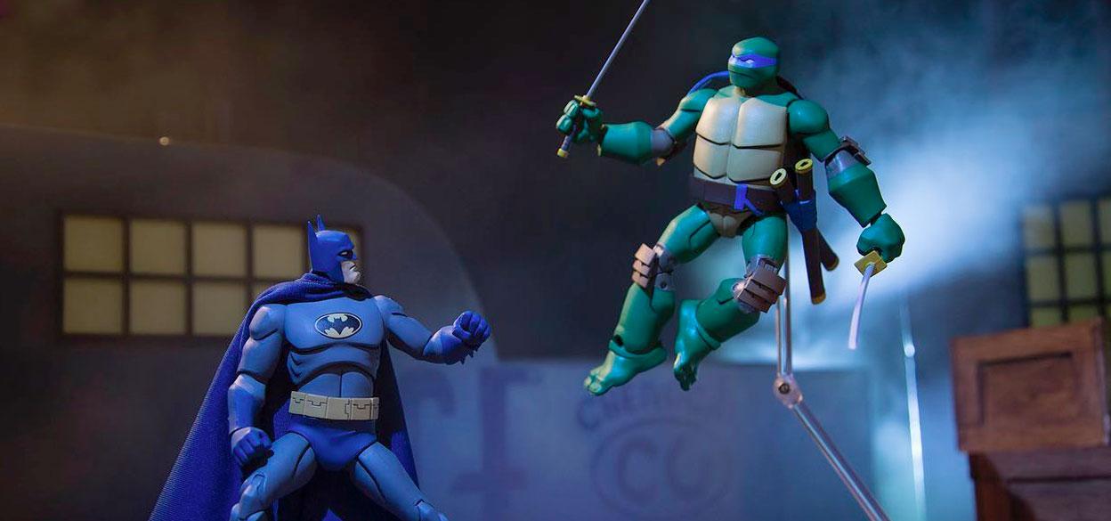 Cool Stuff Batman Vs Teenage Mutant Ninja Turtles Action Figures Film