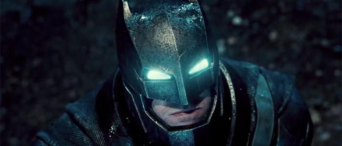 Batman v Superman scene description