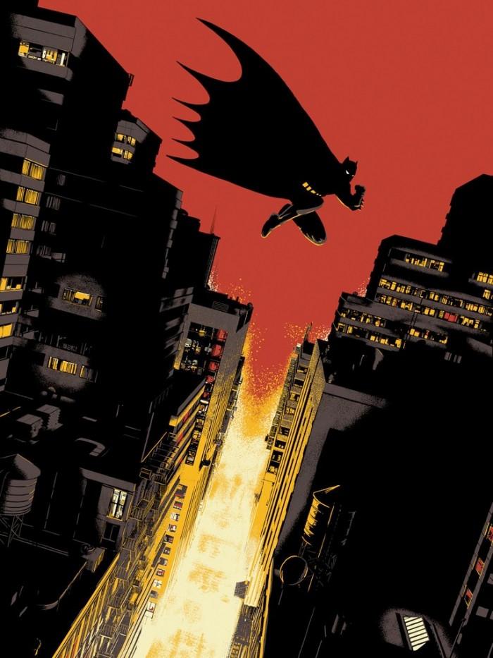 Batman Year One Print