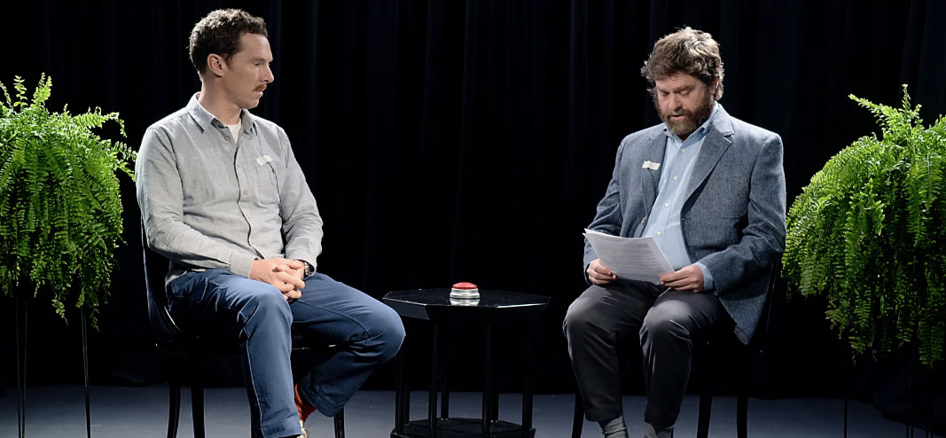 Between Two Ferns: The Movie Trailer: Zach Galifianakis Hits the ...