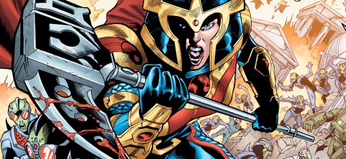 Big Barda - DC Comics