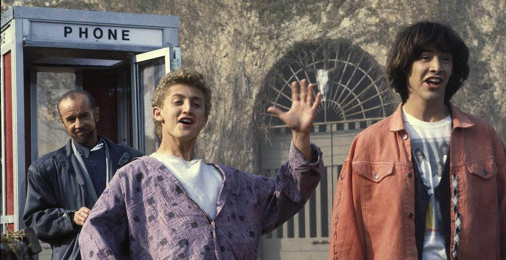 Bill And Ted Original Script Pages Have An Emotional Origin