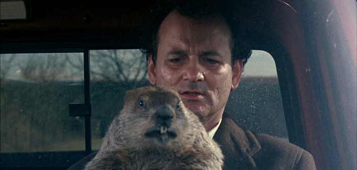 bill murray relives groundhog day