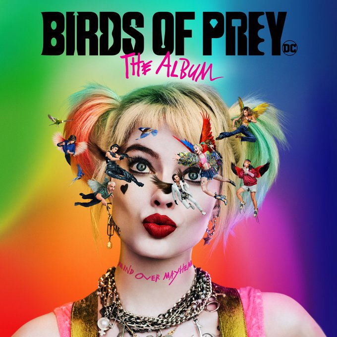 Birds of Prey Soundtrack Art