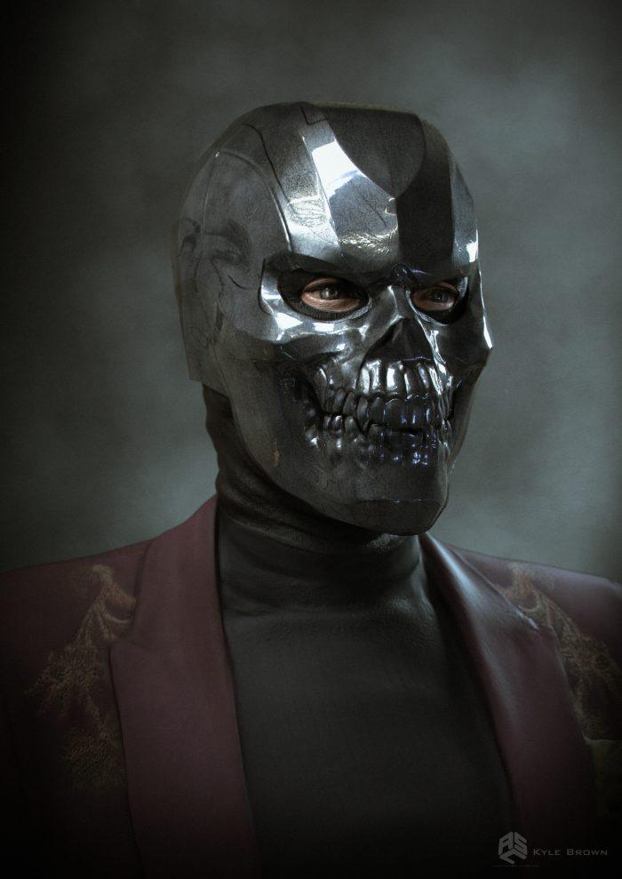 Birds of Prey - Alternate Black Mask Concept Art