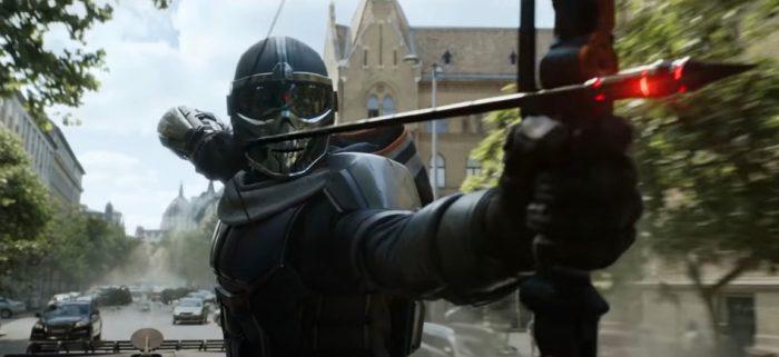 black widow featurette action