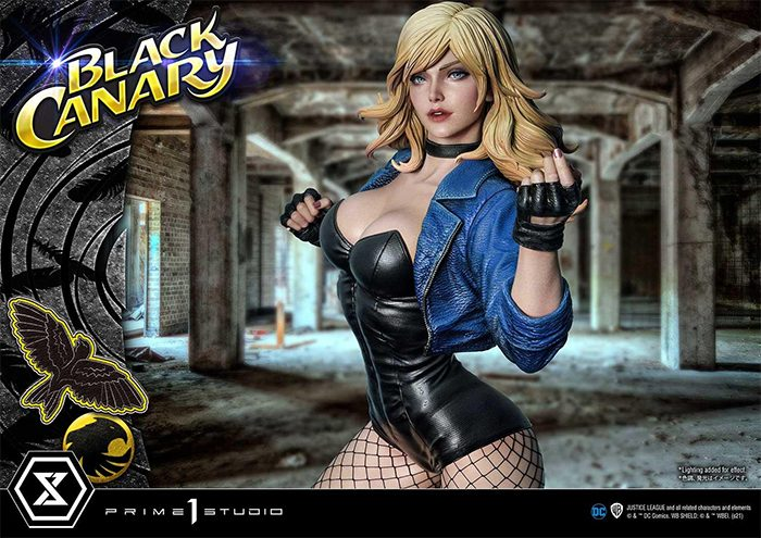 Black Canary Prime 1 Studio Statue