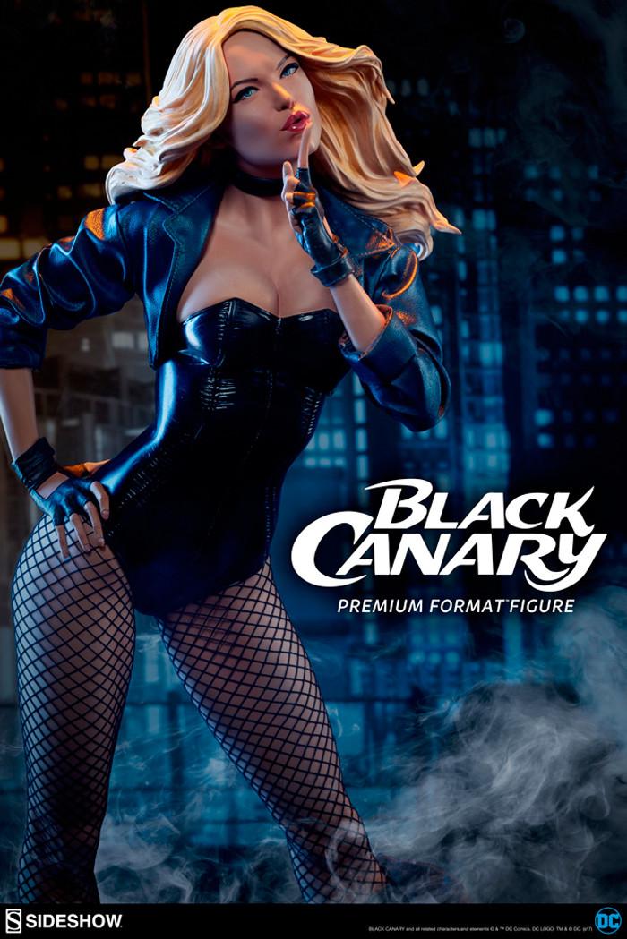 Black Canary Statue