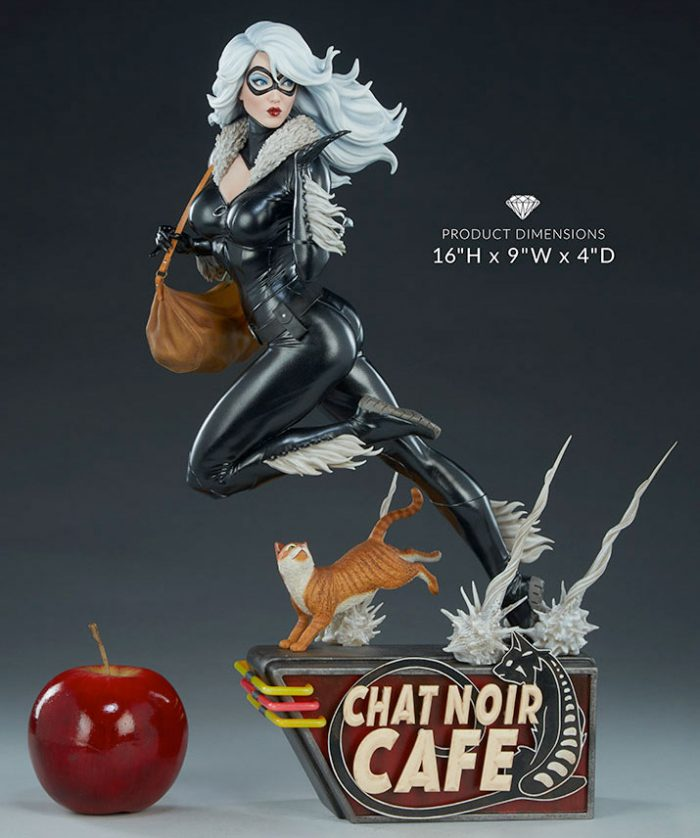 Black Cat - Sideshow Collectibles Statue