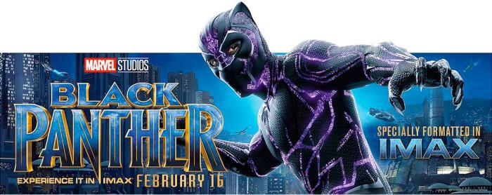 Black Panther IMAX Banner