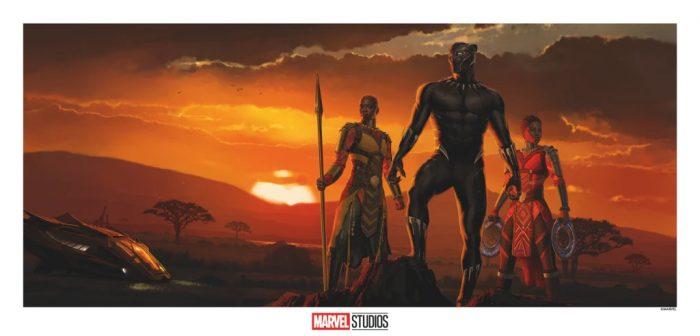 Black Panther Concept Art Print