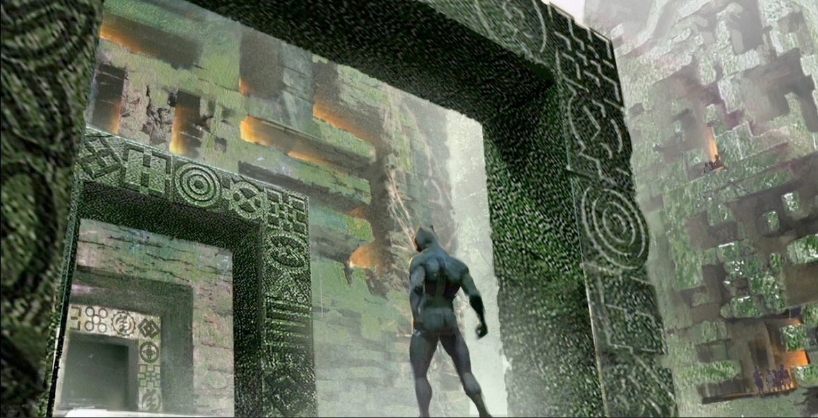 Black Panther Concept Art Welcome To The Jungle And Wakanda