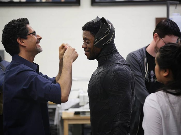 Black Panther Costume Test