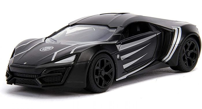 Black Panther Die Cast Car