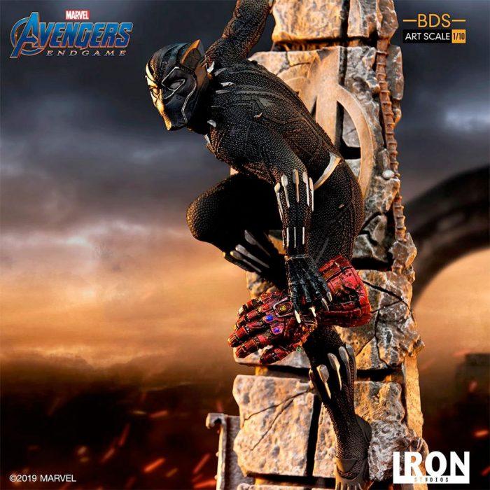 Black Panther - Avengers Endgame Iron Studios Statue