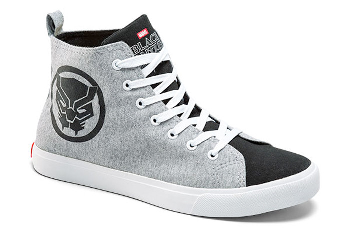 Black Panther High Top Sneakers
