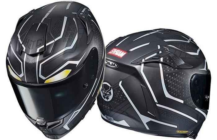 Black Panther Motorcycle Helmet