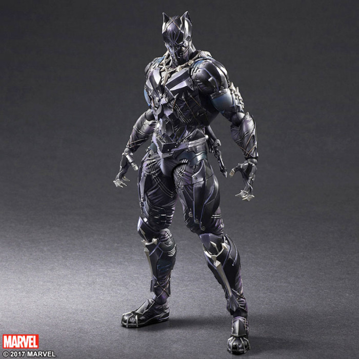 Black Panther Play Arts Kai Figure