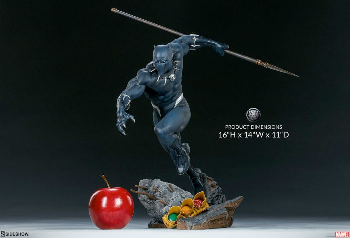 Black Panther Sideshow Collectibles Statue