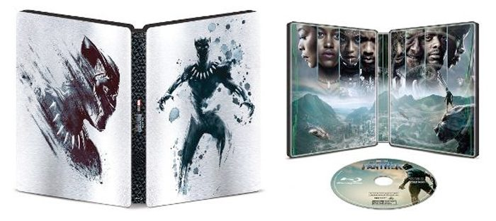 Black Panther Steelbook Cover Art