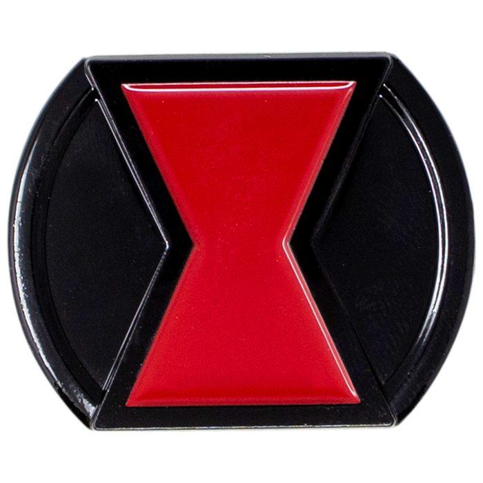 Black Widow Belt Buckle Pin