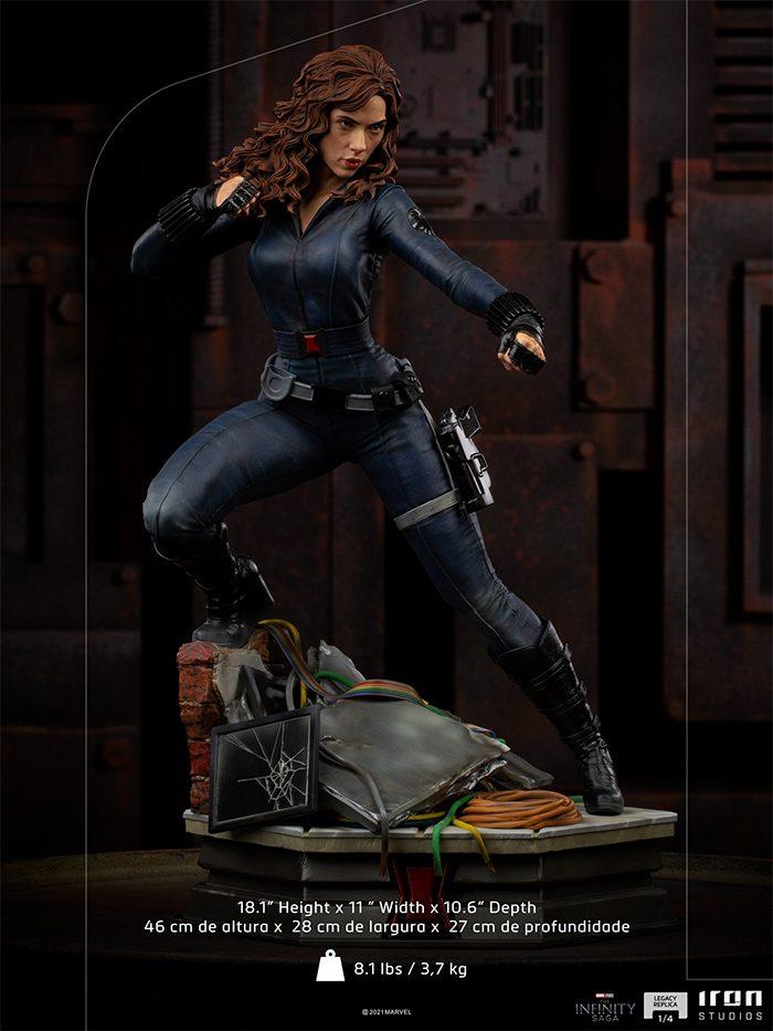 Black Widow - Iron Man 2 Statue