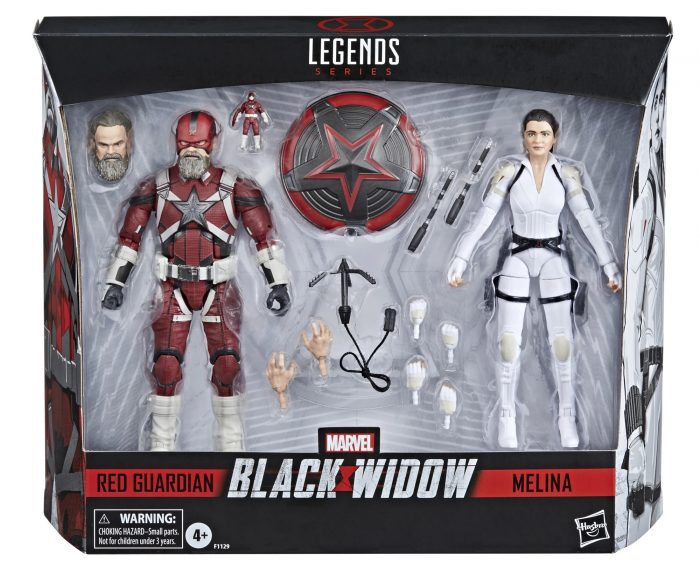 Black Widow - Marvel Legends Two-Pack - Red Guardian and Melina