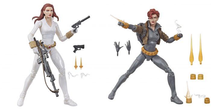 Black WIdow Marvel Legends Figures