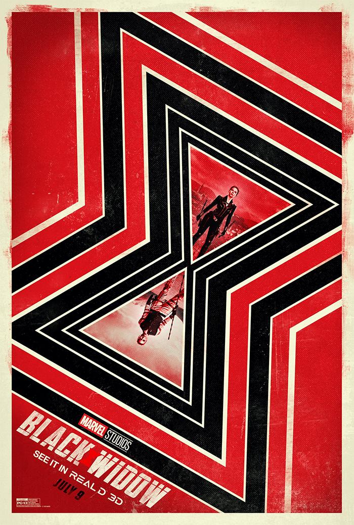 Black Widow RealD 3D Poster