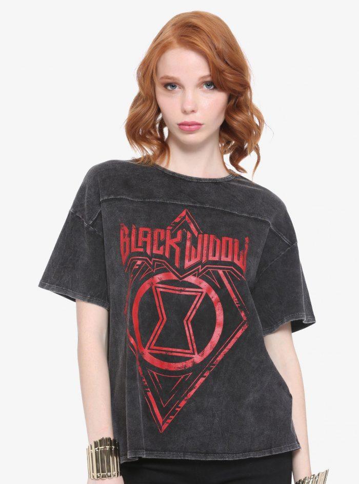 Black Widow Rock Tour Shirt