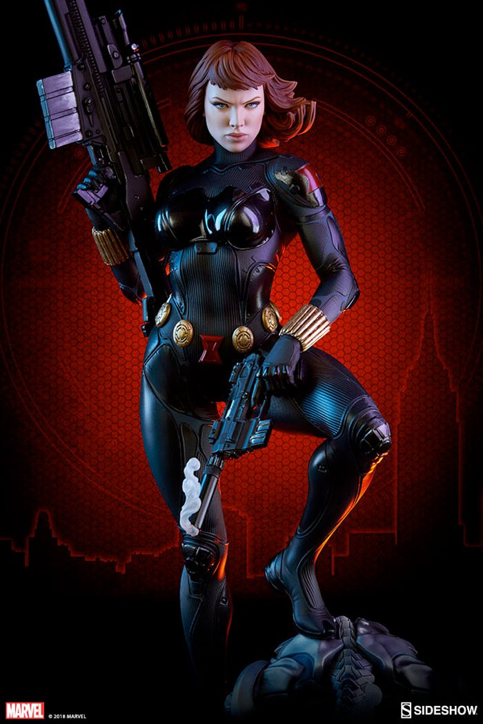 Black Widow Sideshow Collectibles Statue