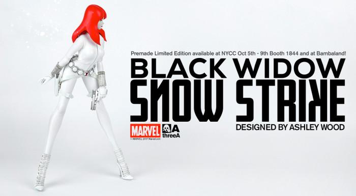 Black Widow Snow Strike Statue