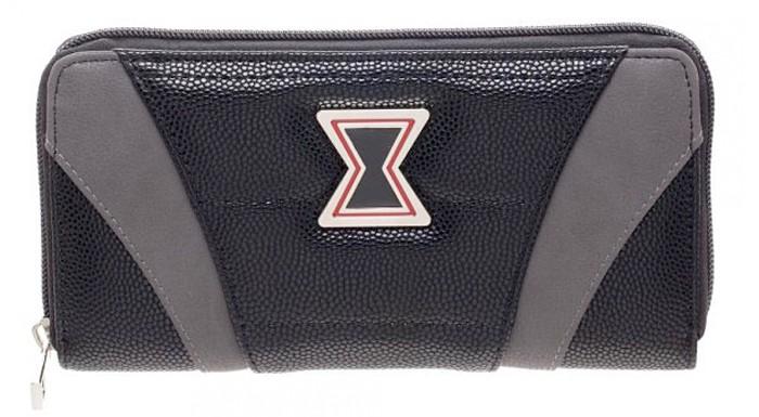 Black Widow Zip Wallet