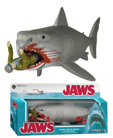 Funko's Action Figure of Jaws Eating Quint