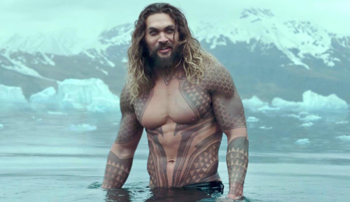 JUSTICE LEAGUE - Official Heroes Trailer -- Pictured: Aquaman (screen grab) CR: Warner Bros. Pictures