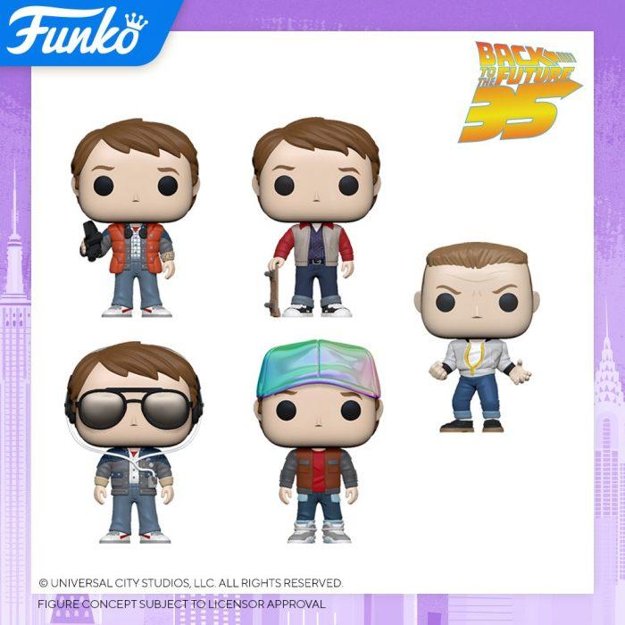 New Back to the Future Funko POPs